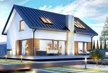HomeKONCEPT 16 | Projekt domu / HomeKONCEPT-16 to projekt domu energooszczędnego, charakteryzującego się zwartą bryłą oraz optymalną powierzchnią użytkową. Klasyczny, dwuspadowy dach z wyeksponowanym pionem kominowym oraz piękny taras okalający dom z pewnością przyciąga uwagę. W projekcie tym przewidziany jest jednostanowiskowy garaż będący osobnym budynkiem, dzięki czemu jego położenie można dopasować odpowiednio do warunków działki. Takie rozwiązanie pozwoli też zaoszczędzić na kosztach ogrzewania.