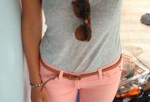 Summer outfits <3 / by Brittany Van Der Weerd