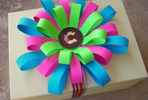 Gift wrap and bows / by Sherry Cole-Sterling