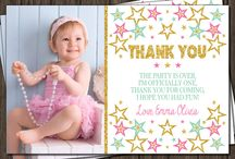 Thank you cards -1bday