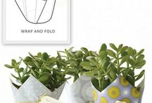 Gardening  --  Plant Pot Wrapping