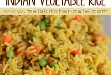 India vegetable rice