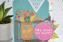 Hello Darling Collection / Projects made with the Hello Darling Collection from We R Memory Keepers
