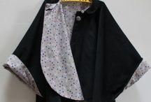 vêtements hiver femme (cape,...)