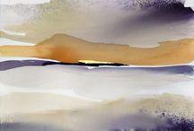aquarel abstract