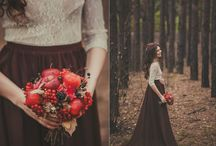 Осень девушка