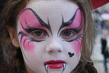 maquillaje de fantasía niños