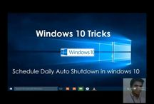 Shadule Auto Shut down in Windows 10