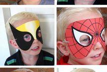 Αποκριάτικες μάσκες