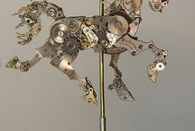 Carousel Horses / by Kathie McDonald