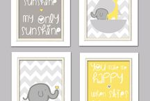Baby/Kid Spaces / by Kasey Baker (Nishimura)