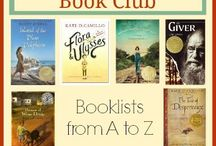 Book Club Books for Kids / Collection of books for great book club or literature circle discussions in elementary / middle grade classrooms.