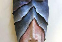 Masks / Masks are fascinating, beautiful, and haunting...