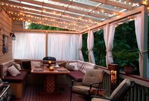 Roofed pergola ideas