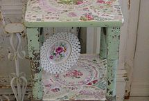 Shabby furniture / vintage furniture made to look gorgeous