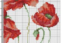Flowers - cross stitch