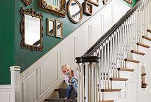 Treppenhaus Wandgestaltung