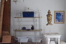 Artist's Ateliers - Our Furniture Atelier / Studio Spaces for Maison Fleur de Lis' Creations