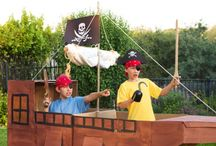 Pirate birthday party ideas / by Andrea Kurth