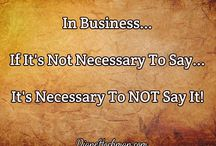 Business Quotes And Learning