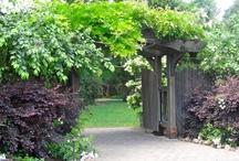 GARDEN GATES / Wonderful entrance into a divine outdoor space.