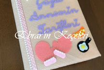 Anı Defterleri / Notebooks with felt
