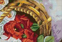 schemi fiori e piante
