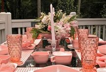 vintage eclectic tablescapes / by claudia escobedo