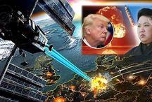 """News : Donald Trump pronto ad utilizzare """"Armi Spaziali"""" contro la Corea del Nord."""