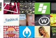 webdesign,  illustratie en grafisch ontwerp. / Deze websites zijn overzichtelijk en daardoor handig.