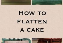 cake flat