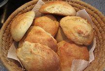 Brød, madbrød og boller