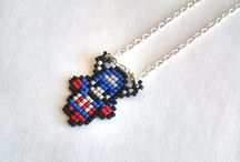 A Bit Retro's Geeky Fandom Inspired Jewelry and Accessories. / You will find great and geeky accessories and jewelry here. Peruse to purchase, favourite or share <3  / by A Bit Retro
