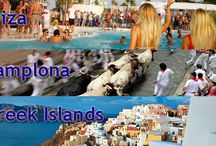 The Ultimate Euro Party Tour / Our Ultimate Party Euro Tour includes some of our Wildest Destinations – Ibiza, The Greek Islands & The Running of the Bulls Festival in Pamplona. / by TGW Travel Group