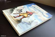 Avatar The Last Air Bender Art Book