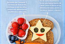 Lunch Time! / Sugerencias a la hora de elegir los ingredientes del lunch para tus niños.