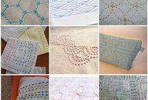 Hand Quilting / Stitching by Hand, Quilting by Hand, Sashiko / by Twiggy & Opal