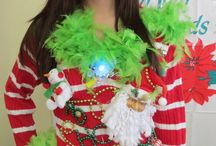 Ugly Christmas sweater / by Debbie Faulconer