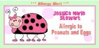 Personalized Allergy Alert Labels