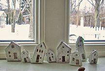 Little houses / by Susan Ziegler Hutsko