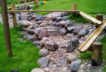 Daycare outdoor play areas / Outdoor ideas for daycare and home.