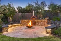 outdoor cooking and fire