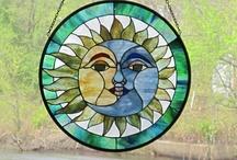 Sun and moon mosaics