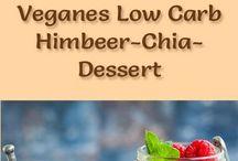 Chia Himbeeren Dessert