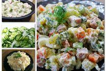 saláta sosak