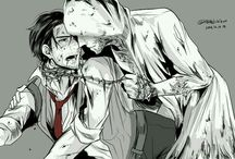 THE EVIL WITHIN Sebastian x Ruvik
