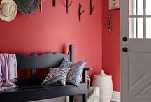 Interieur: rood