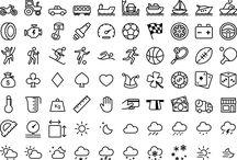 sketching icons