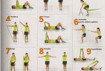 ejercicios con banda