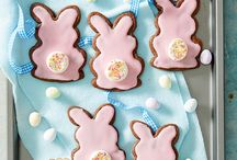 Easter recipes / Hop into Easter with these delicious Easter recipes, including Easter cakes, hot cross buns, chocolate cream eggs, and Easter cooking activities for kids.